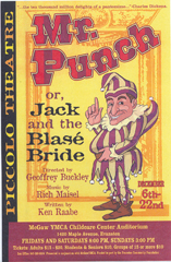 mr punch or Jack and the Blase Bride